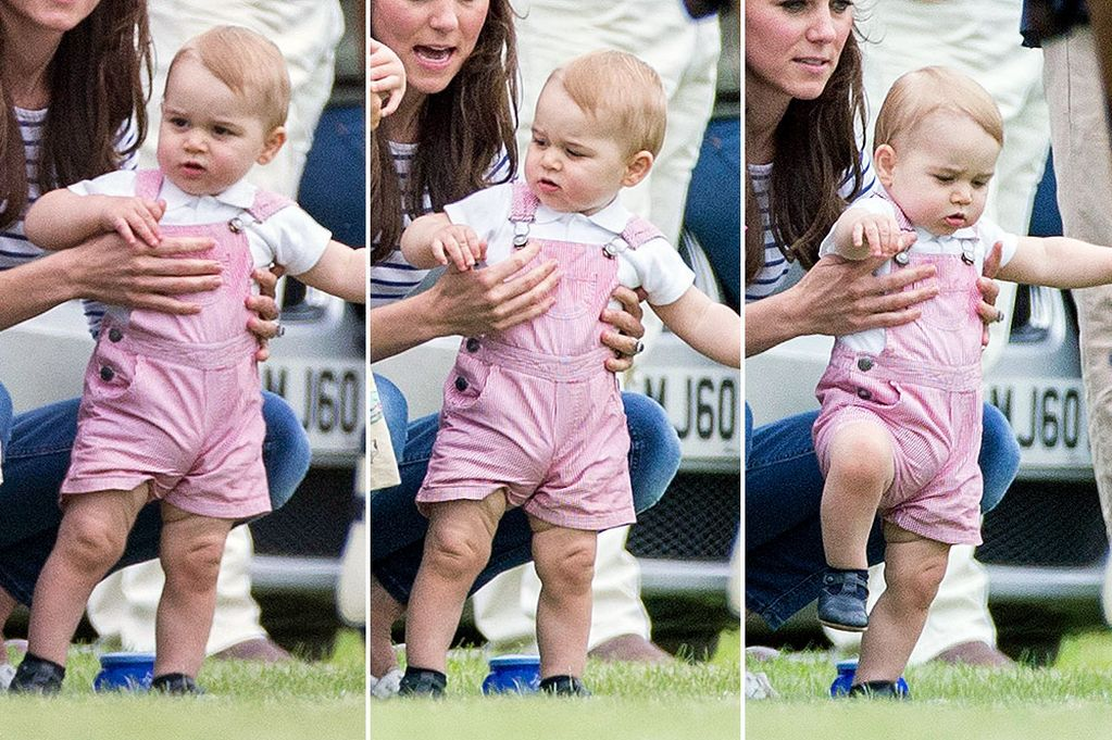 Prince-George-at-the-polo-wearing-pink-dungarees